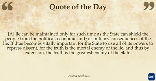 goebls truth